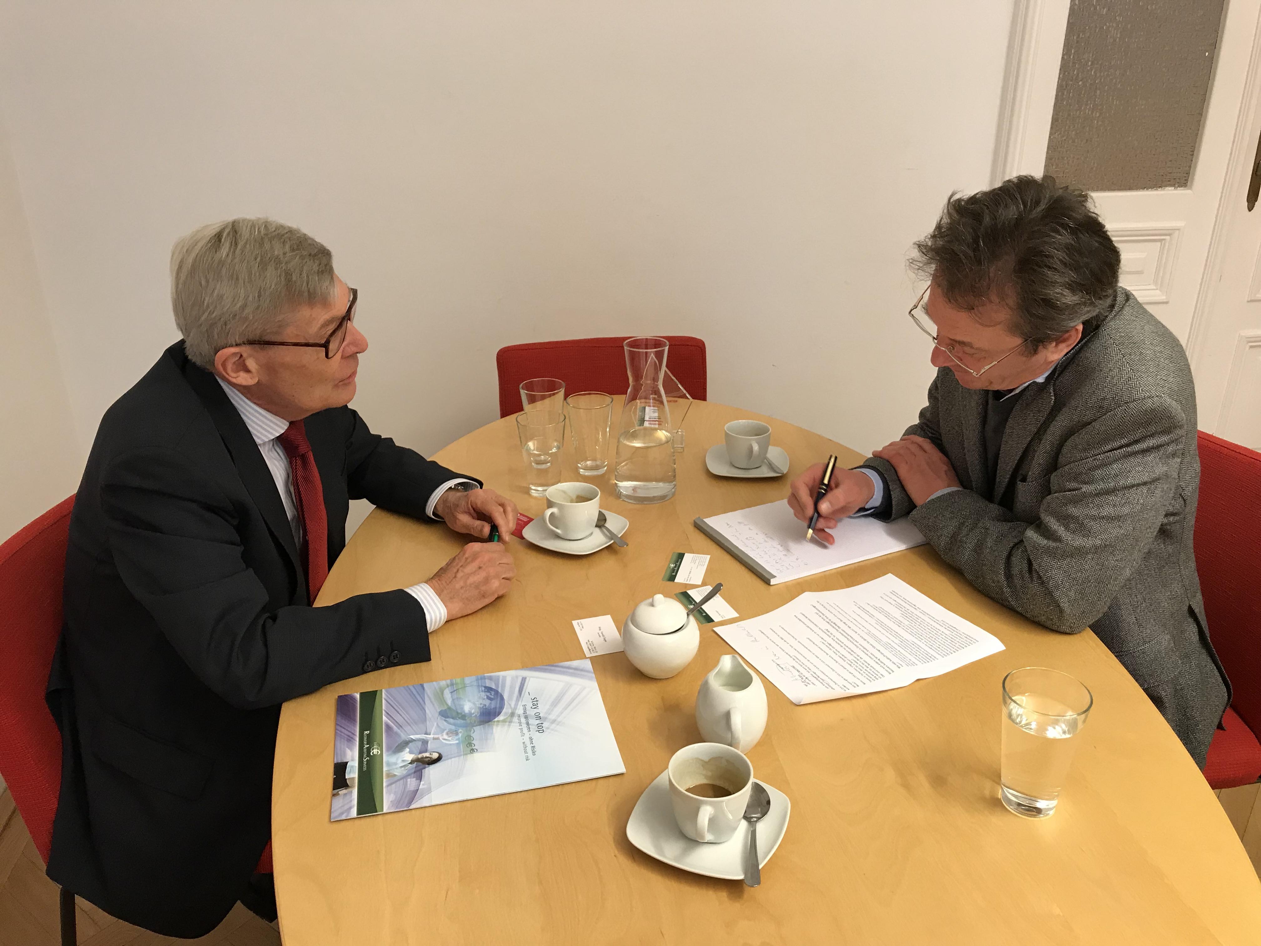Daniel Van der Spiegel im Interview mit Retail